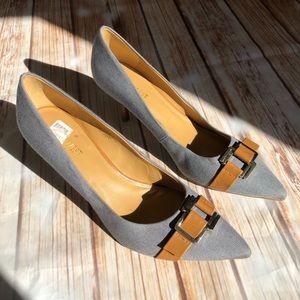 Nine West Annabellao Blue Heel Pumps Size 10